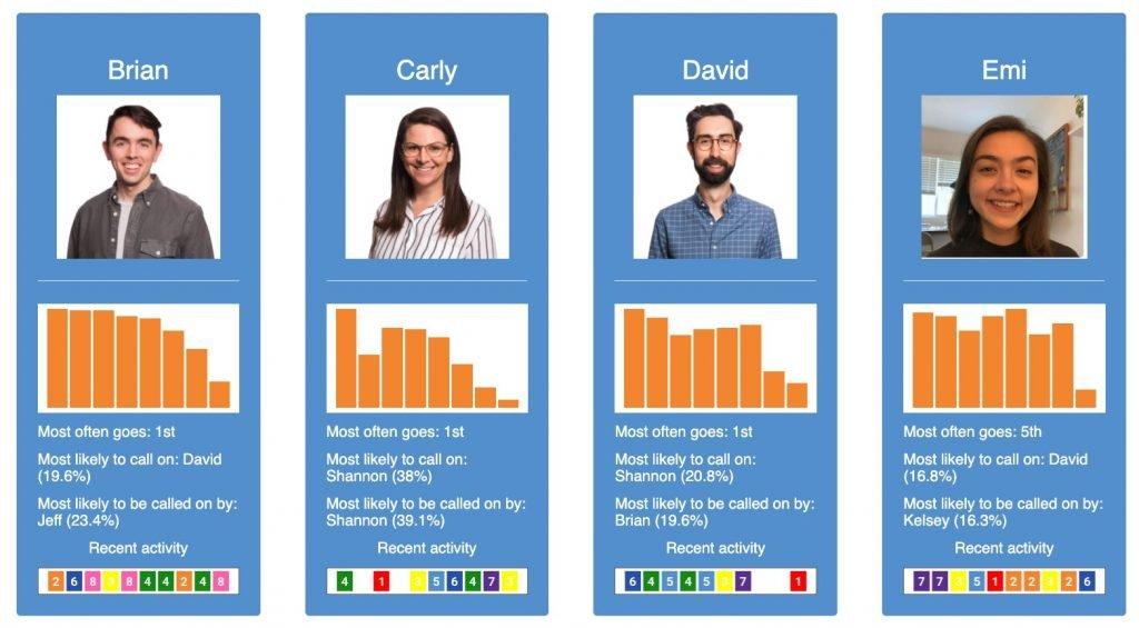 screenshot of the january advisors standapp